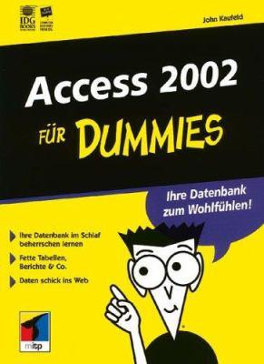 Access 2002 Fur Dummies 9783527700493