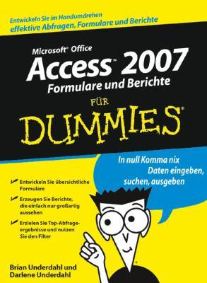 Access 2007 Formulare Und Berichte Fur Dummies 9783527704200