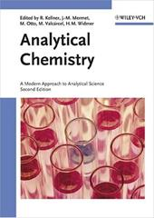 Analytical Chemistry: A Modern Approach to Analytical Science 7930507