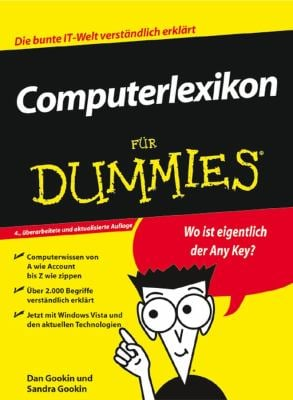 Computerlexikon Fur Dummies 9783527703487