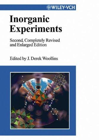 Inorganic Experiments 9783527305100