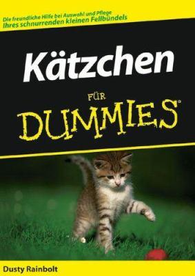 Katzchen Fur Dummies 9783527702183