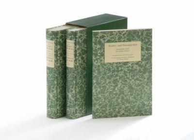 Kinder- Und Hausmarchen, 2-Volume Set 9783525207642