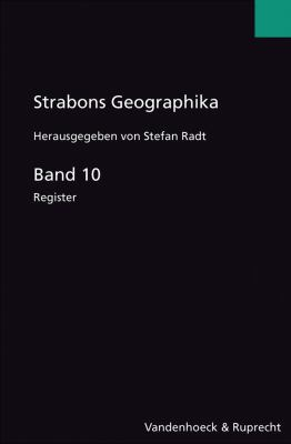 Strabons Geographika Band 10: Register 9783525259597