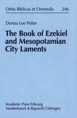 The Book of Ezekiel and Mesopotamian City Laments 9783525543672