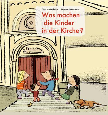 Was Machen Die Kinder in Der Kirche?: Bilderbuch 9783525630297