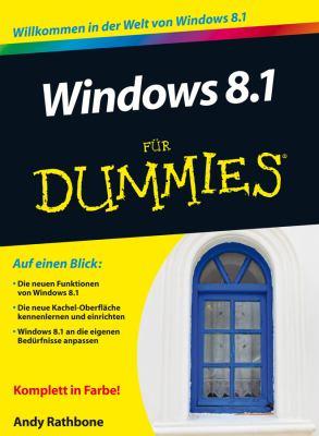 Windows 8.1 Fur Dummies 9783527710256