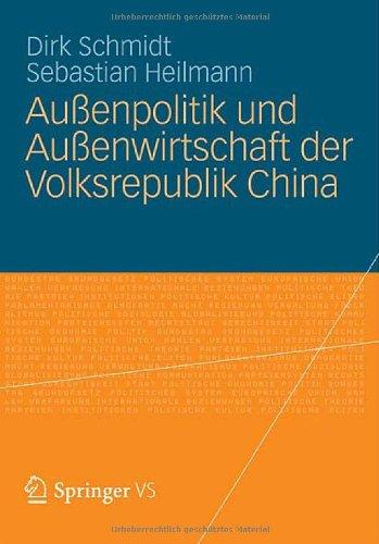 Au Enpolitik Und Au Enwirtschaft Der Volksrepublik China 9783531174471