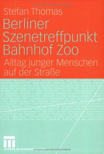 Berliner Szenetreffpunkt Bahnhof Zoo: Alltag Junger Menschen Auf Der Stra E 9783531146140