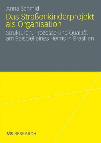 Das Stra Enkinderprojekt ALS Organisation: Strukturen, Prozesse Und Qualit T Am Beispiel Eines Heims in Brasilien 9783531174181