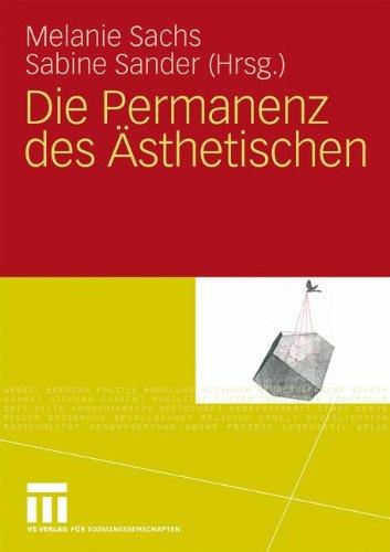 Die Permanenz Des Sthetischen 9783531162317