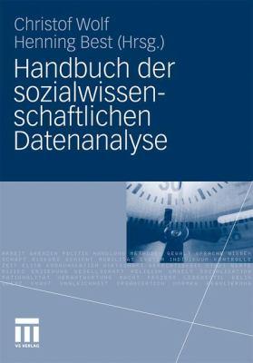 Handbuch Der Sozialwissenschaftlichen Datenanalyse 9783531163390