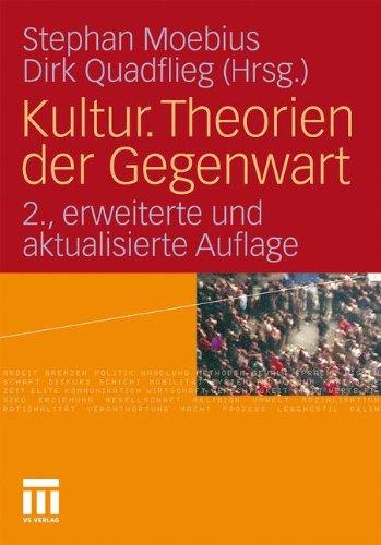 Kultur. Theorien Der Gegenwart 9783531167756