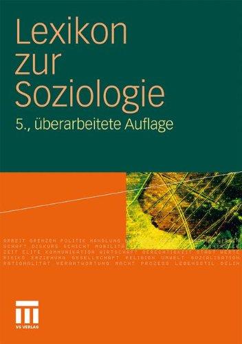 Lexikon Zur Soziologie 9783531166025