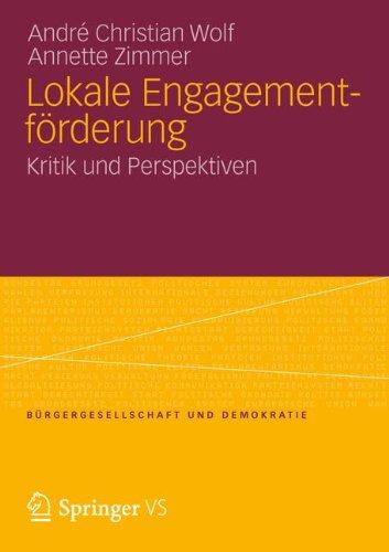 Lokale Engagementf Rderung: Kritik Und Perspektiven 9783531185859