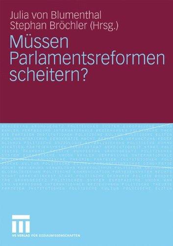 M Ssen Parlamentsreformen Scheitern? 9783531154688