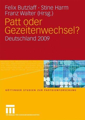 Patt Oder Gezeitenwechsel?: Deutschland 2009 9783531162034