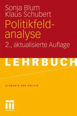 Politikfeldanalyse 9783531172767