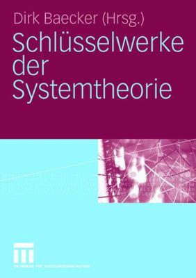 Schl Sselwerke Der Systemtheorie 9783531140841