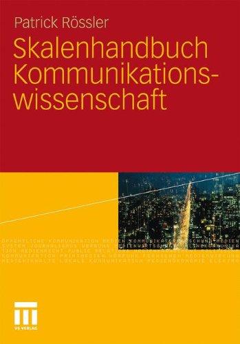 Skalenhandbuch Kommunikationswissenschaft 9783531154534