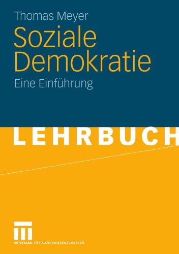 Soziale Demokratie: Eine Einf Hrung 9783531168142