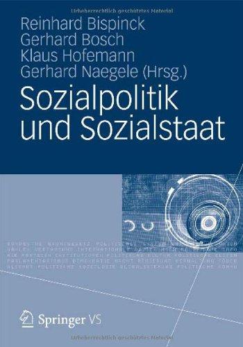 Sozialpolitik Und Sozialstaat: Festschrift F R Gerhard B Cker 9783531183602