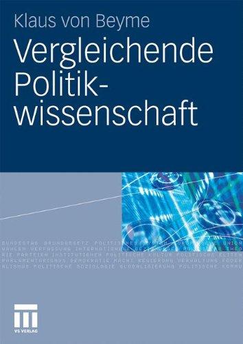 Vergleichende Politikwissenschaft 9783531168074