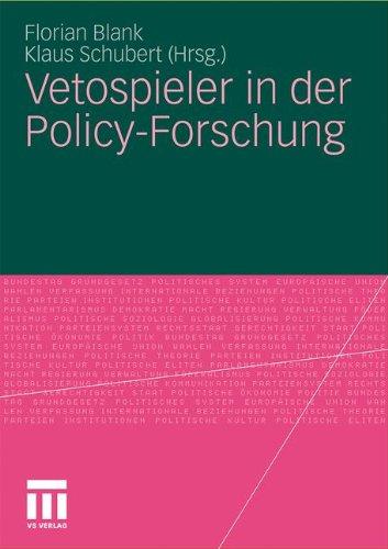 Vetospieler in Der Policy-Forschung 9783531179346