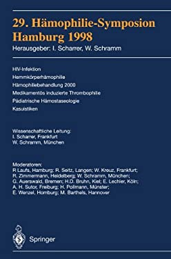 29. H Mophilie-Symposion: Hamburg 1998 9783540659297