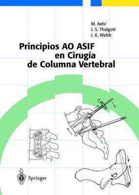 Principios Ao Asif En Cirugia de Columna Vertebral 9783540432005