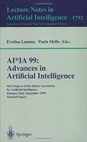 AI*Ia 99: Advances in Artificial Intelligence: 6th Congress of the Italian Association for Artificial Intelligence Bologna, Italy,