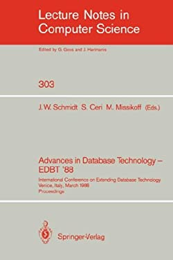 Advances in Database Technology - Edbt '88: International Conference on Extending Database Technology Venice, Italy, March 14-18, 1988. Proceedings 9783540190745