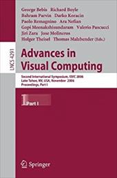 Advances in Visual Computing: Second International Symposium, Isvc 2006, Lake Tahoe, NV, USA, November 6-8, 2006, Proceedings, Par