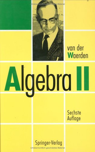 Algebra: Volume 2 9783540568018