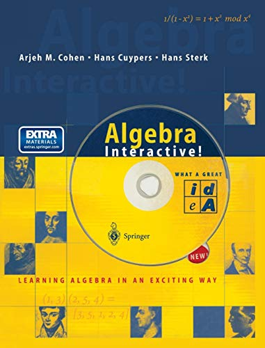 Algebra Interactive! [With CDROM and CD] 9783540653684