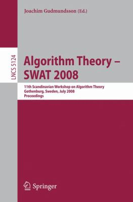 Algorithm Theory Swat 2008 9783540699002
