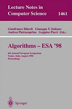 Algorithms - ESA '98: 6th Annual European Symposium, Venice, Italy, August 24-26, 1998, Proceedings 9783540648482