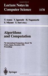 Algorithms and Computation: 7th International Symposium, Isaac '96, Osaka, Japan, December 16 - 18, 1996, Proceedings