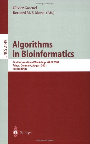 Algorithms in Bioinformatics: First International Workshop, Wabi 2001, Aarhus, Denmark, August 28-31, 2001, Proceedings 9783540425168
