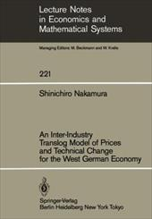 An Inter-Industry Translog Model of Prices and Technical Change for the West German Economy 13151538