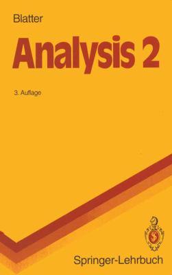 Analysis 2 9783540556770