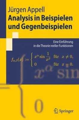 Analysis In Beispielen Und Gegenbeispielen: Eine Einfuhrung In die Theorie Reeller Funktionen 9783540889021