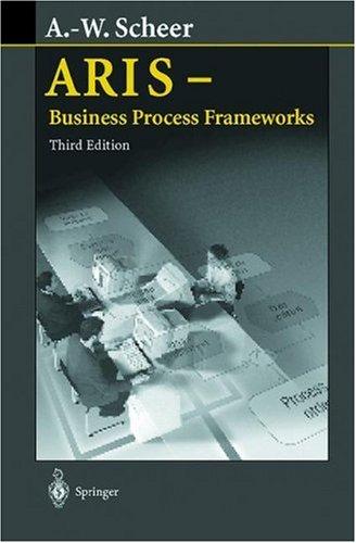Aris - Business Process Frameworks 9783540658344