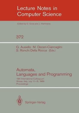 Automata, Languages and Programming: 16th International Colloquium, Stresa, Italy, July 11-15, 1989. Proceedings 9783540513711