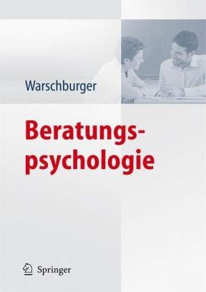 Beratungspsychologie 9783540790600