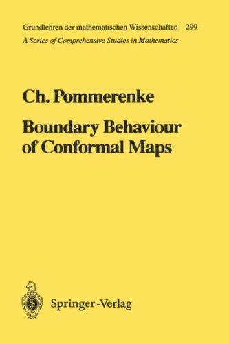 Boundary Behaviour of Conformal Maps 9783540547518