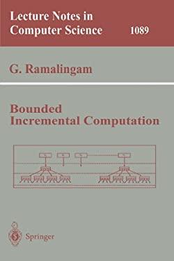 Bounded Incremental Computation 9783540613206
