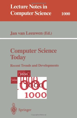Computer Science Today 9783540601050