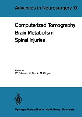 Computerized Tomography Brain Metabolism Spinal Injuries 9783540111153