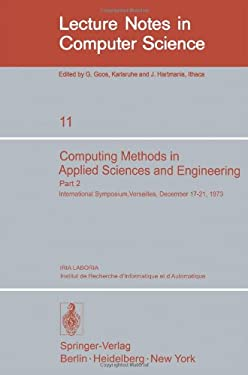 Computing Methods in Applied Sciences and Engineering. International Symposium, Versailles, December 17-21,1973